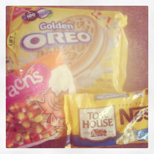 If I can't find C andy Corn Oreos for Candy Corn Oreo Truffles, I ...