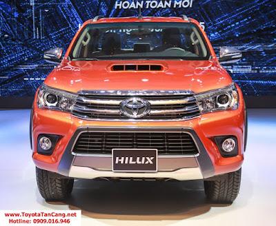 HILUX 2016 toyota tan cang 4 - Chào năm 2016 trải nghiệm Toyota Hilux phiên bản mới, nhận quà siêu khuyến mãi