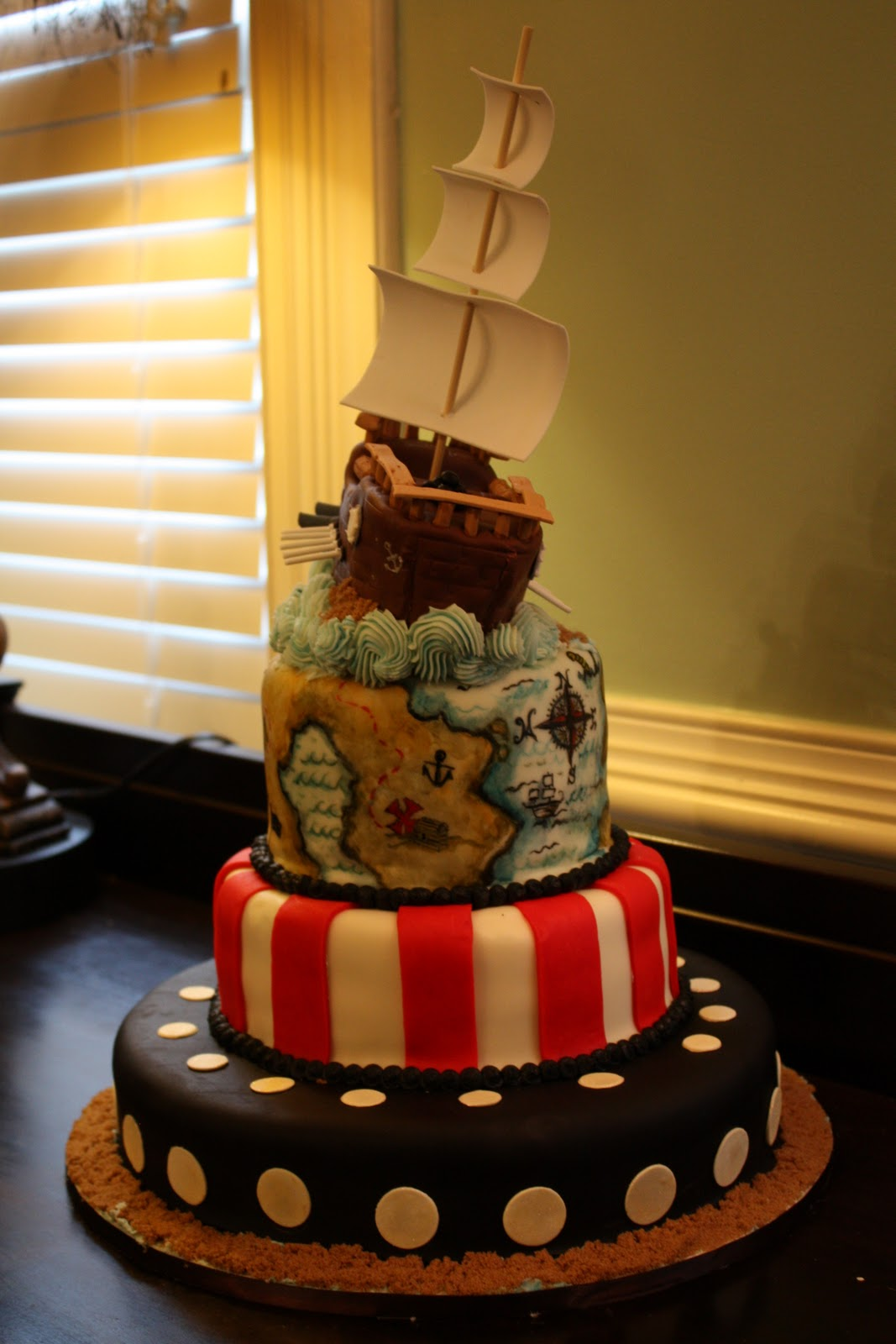 Adult pirate party ideas - A Pirate Turns 3
