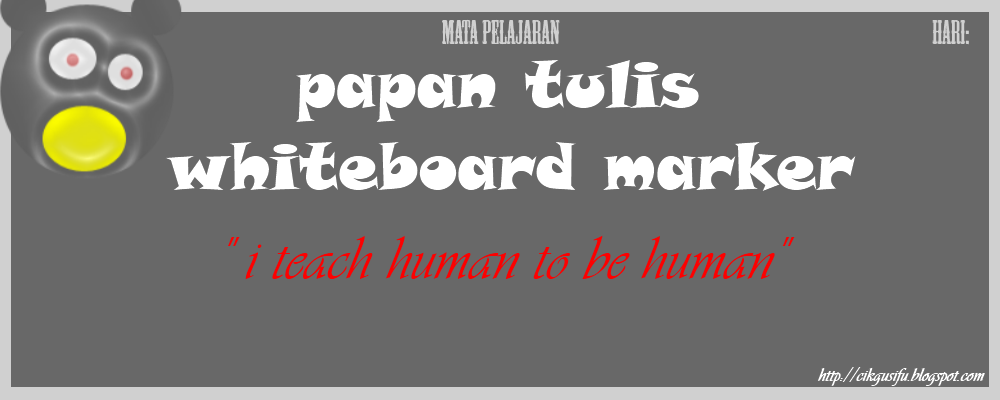 Papan Tulis Whiteboard Marker