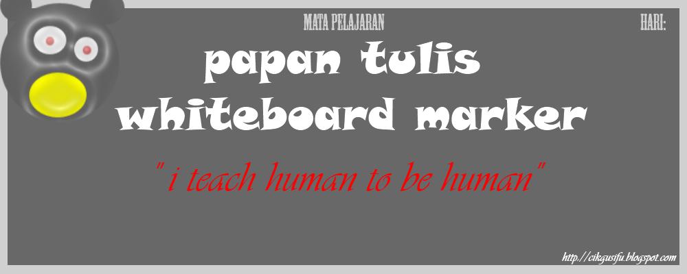 Papan Tulis Whiteboard Marker