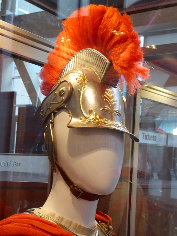 George Clooney Hail Caesar Roman Centurion helmet