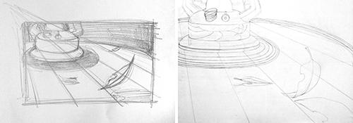 多摩美プロダクトデザイン合格者色彩構成作品