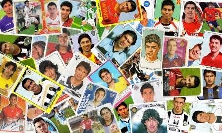 Blog con laminas de futbolistas chileno en el exterior