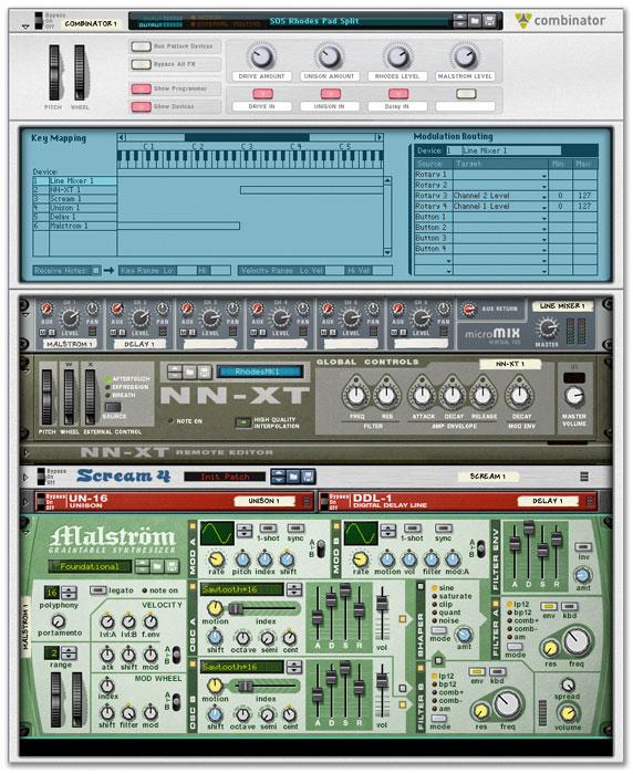 software para la producci u00f3n musical  propellerhead reason 5
