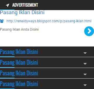Cara Membuat Iklan Teks Seperti Google Adsense Di Blog