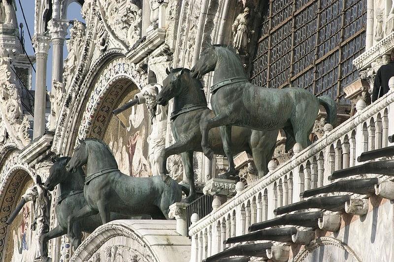 Los viajeros caballos de la Basílica de San Marcos - Curistoria ...