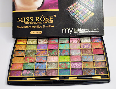 The Make-Up Artist & Collection: Make-Up Palette: MISS ROSE from Dubai