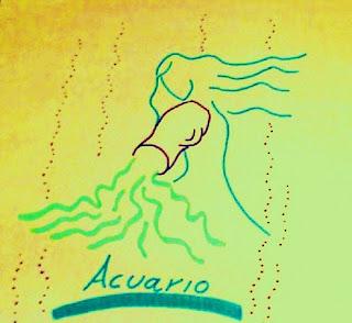 El creativo volátil y mental signo de Acuario