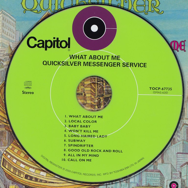Quicksilver Messenger Service What About Me Small Town Pleasures: ...