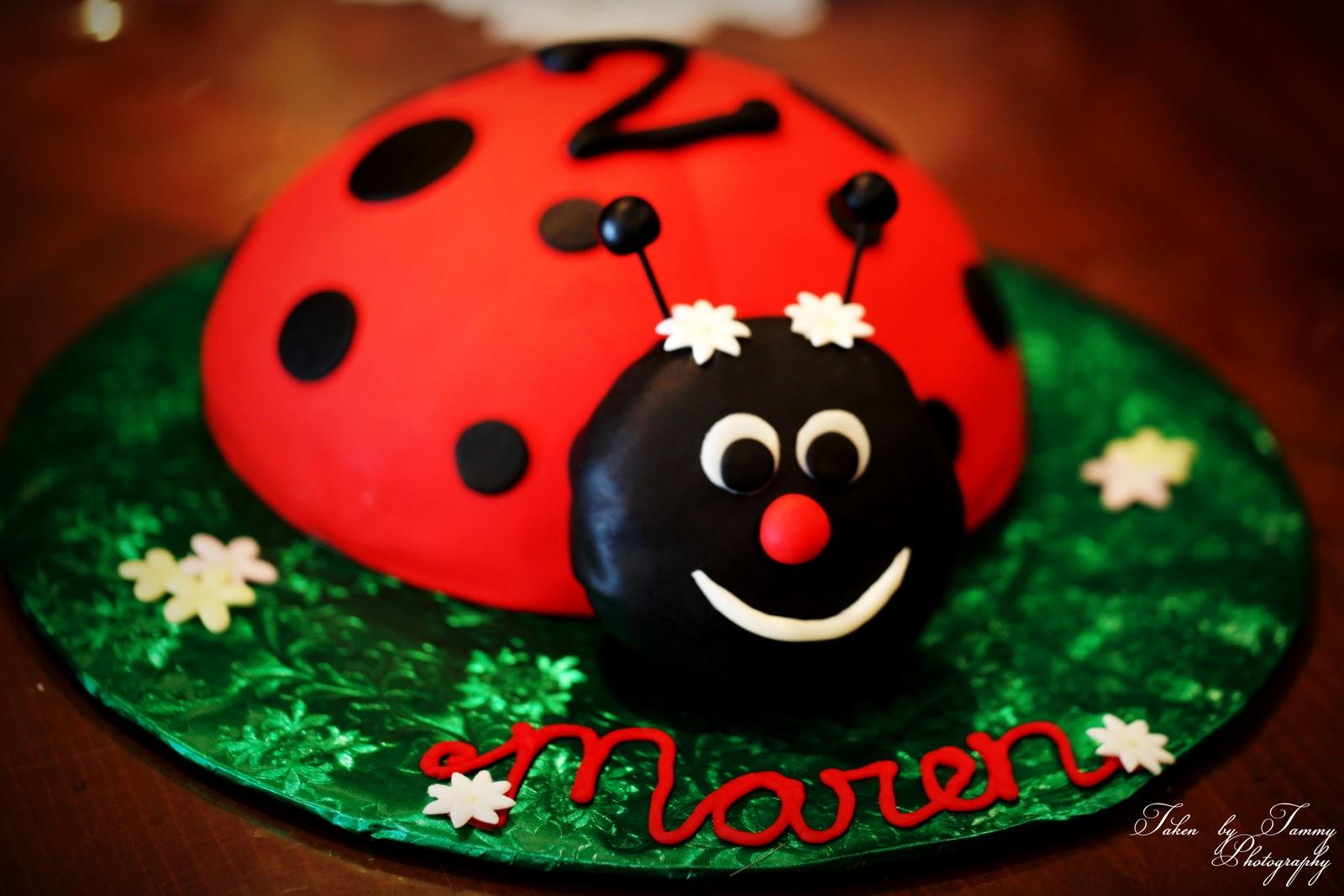 D Ladybug Cake Pan