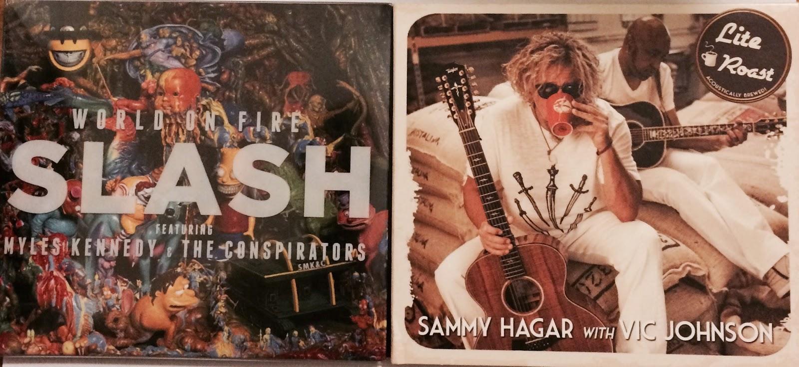 Slash and Sammy Hagar
