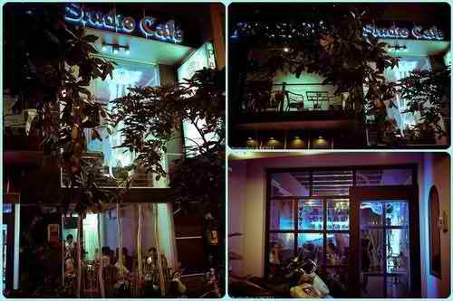 Cafe Pandora Studio - Phong cách thế giới tưởng tượng và siêu thực, cafe sai gon, dia diem an uong ngon