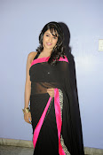 Isha Ranganath glam pics in saree-thumbnail-9