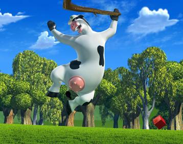 Vaches sacrees la ferme en folie barn yard - Vache en folie ...