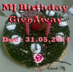 MJ Birthday GiveAway