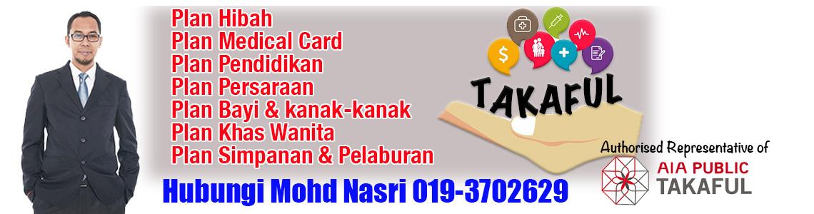 Medical card terbaik AIA Public Takaful