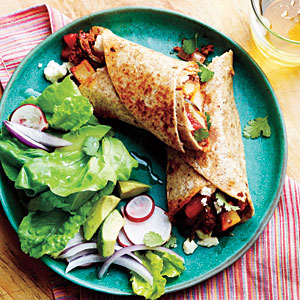Al's Recipe Reviews: Potato, Chorizo, and Green Chile Burritos