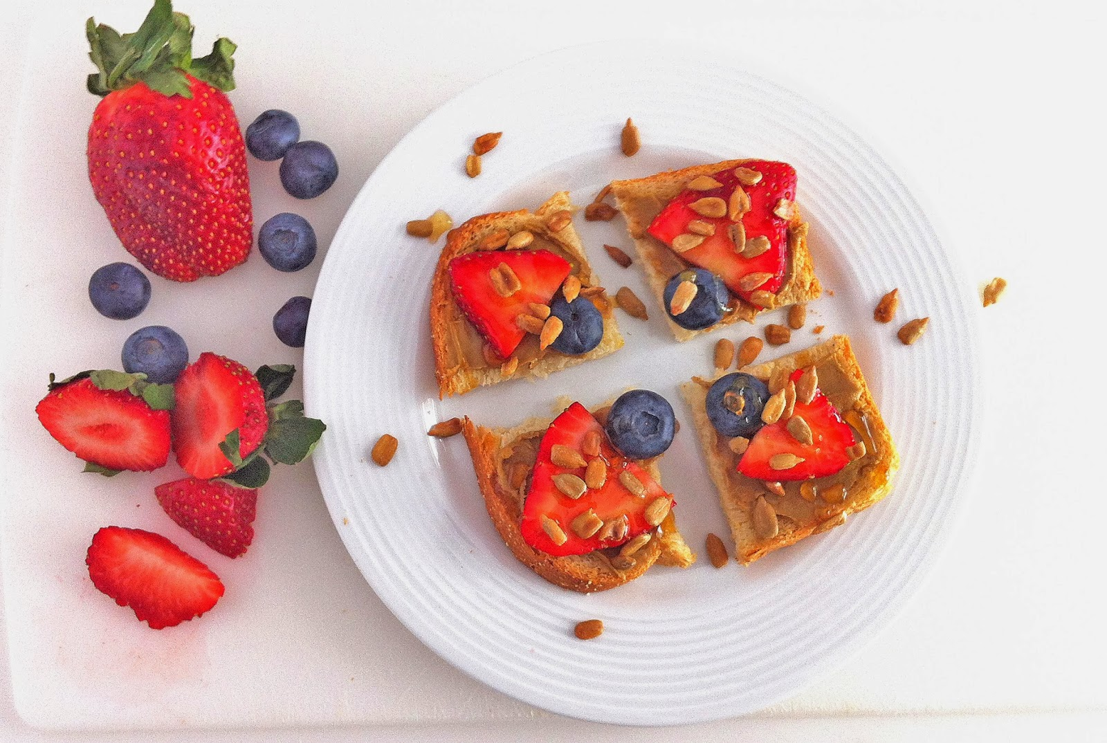 EBL Food Allergies: Sunbutter Berry Toast - Allergy-Friendly