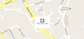 Map of Columbia weight loss office