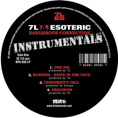 7L & Esoteric – Dangerous Connection (Instrumentals) (Vinyl) (2002) (192 kbps)