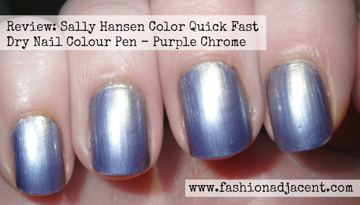 I M Always On The Lookout For Time Savers And This One Is Pretty Cool Sally Hansen Have Bought Out Range Of Fast Drying Nail Polish Pens