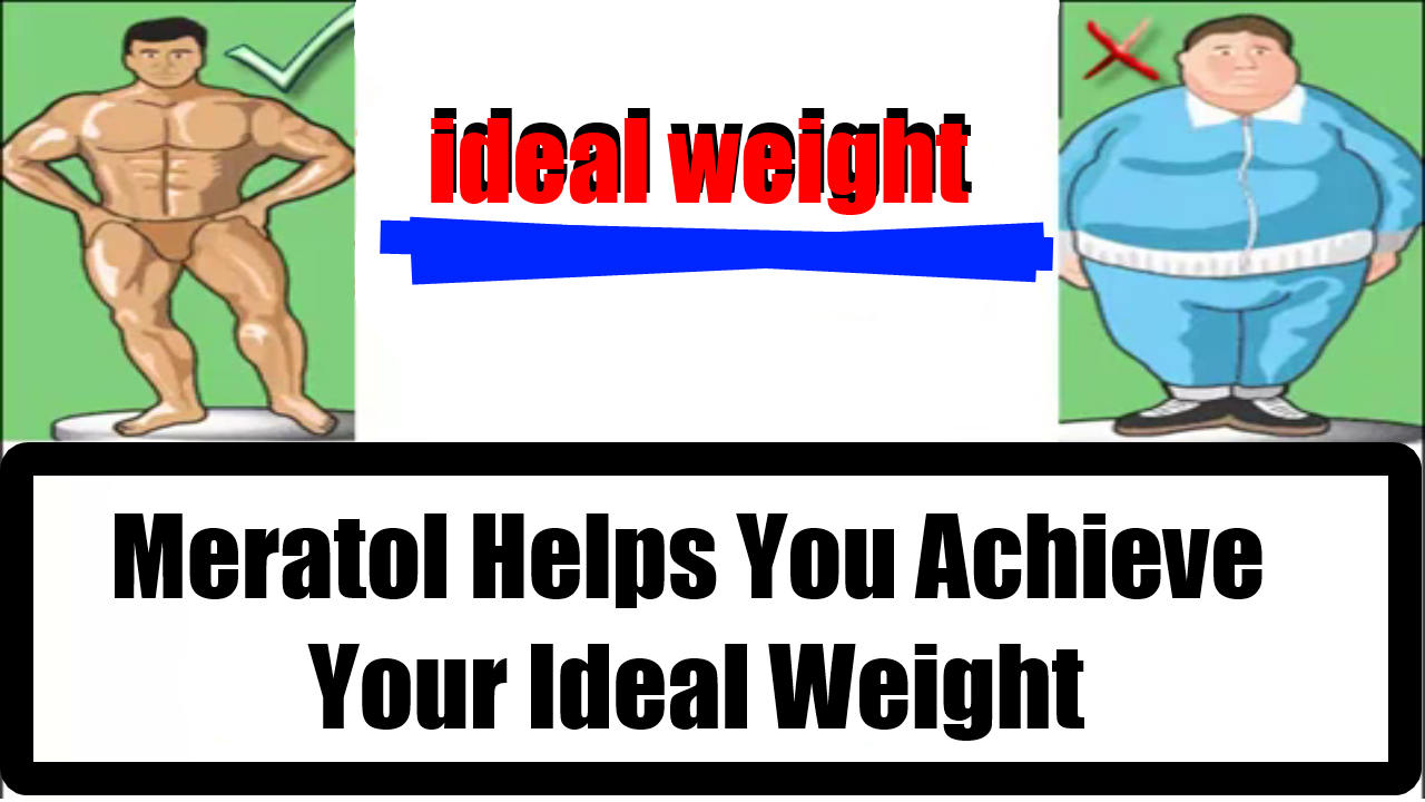 Meratol Helps You Achieve Your Ideal Weight