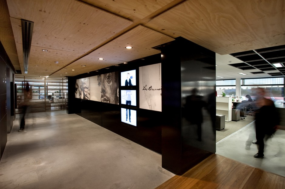 Leo burnett office interior by hassell housevariety for Interior design agency sydney
