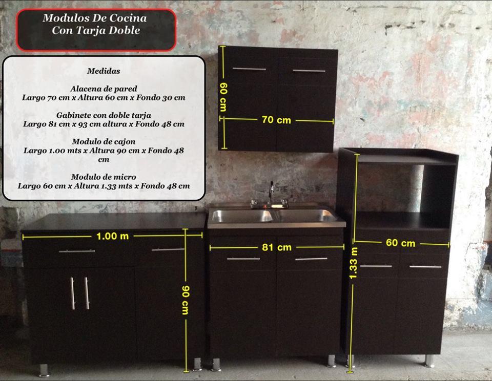 El outlet del gabinete gabinete de cocina con tarja y alacena - Altura de muebles de cocina ...