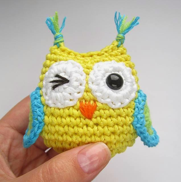 Amigurumi Tutorial For Beginners Owl : Santa Clara Artesanato: Amigurumi corujas