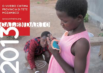 Il calendario O Viveiro per l'anno 2013