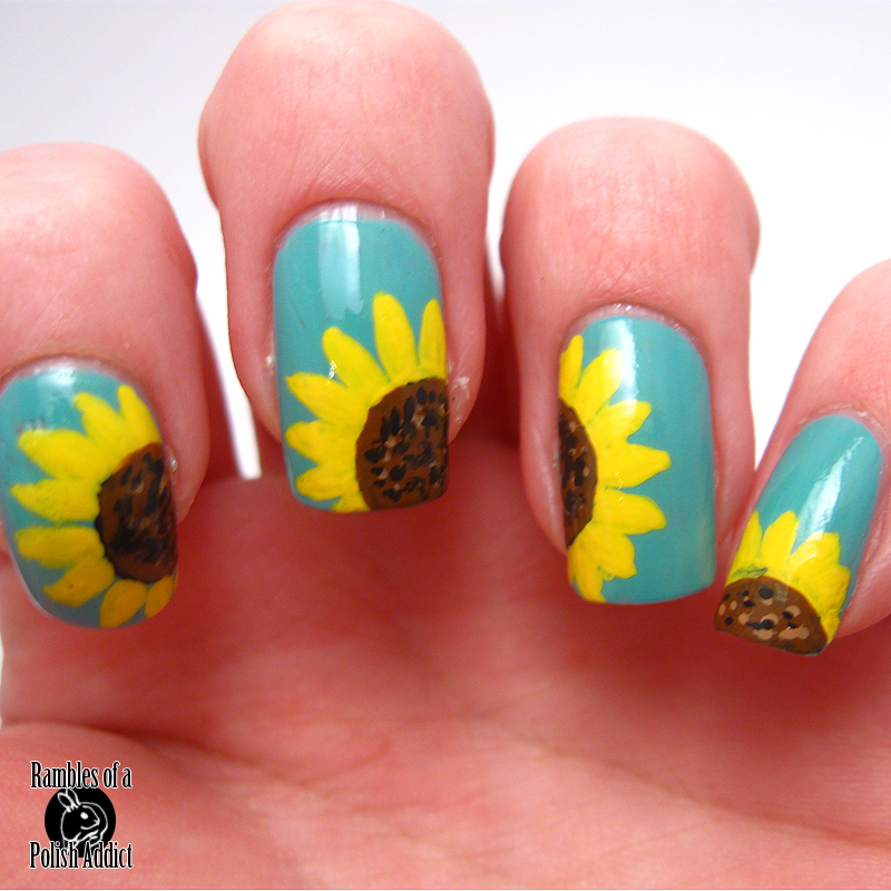Sunflowers Rambles Of A Polish Addict