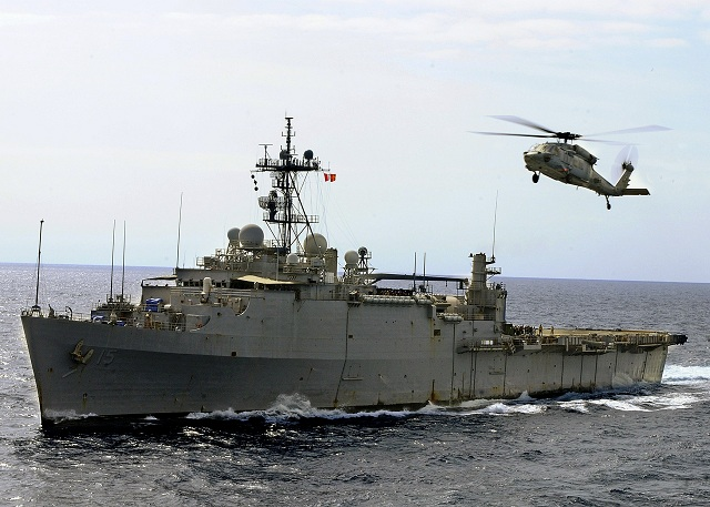 U.S. Sends Large Number of Warships and Planes to Persian Gulf uss ponce lpd 15 us navy seals