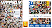 Covers: LV Weekly and Boston Globe's G Living