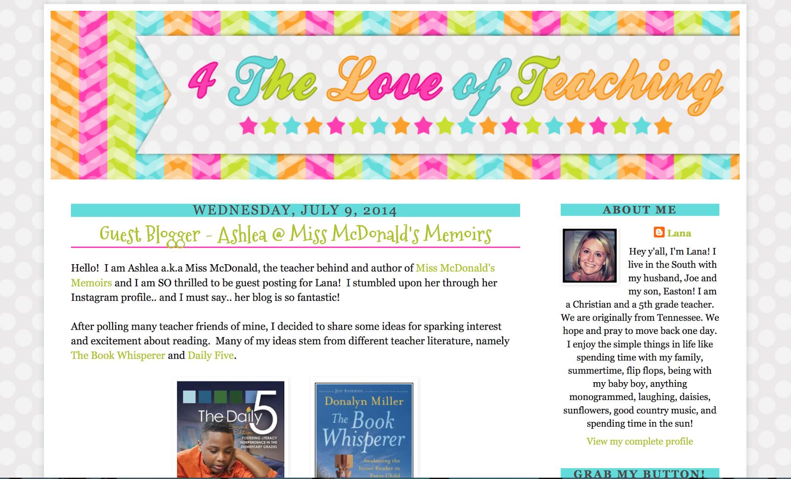 http://4theloveofteaching.blogspot.com/2014/07/guest-blogger-ashlea-miss-mcdonalds.html