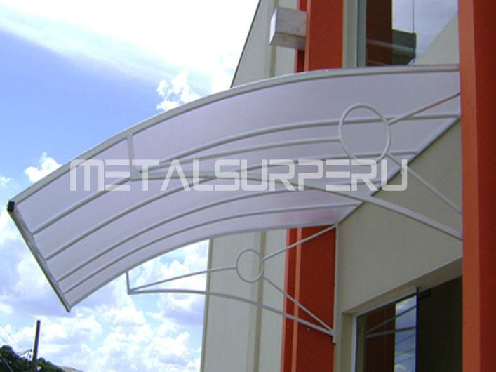 Techos para patios coberturas met licos arequipa for Techos de metal para terrazas