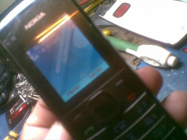 Nokia X1-01 No Power Break Lcd & Resistors Lcd Ways Done
