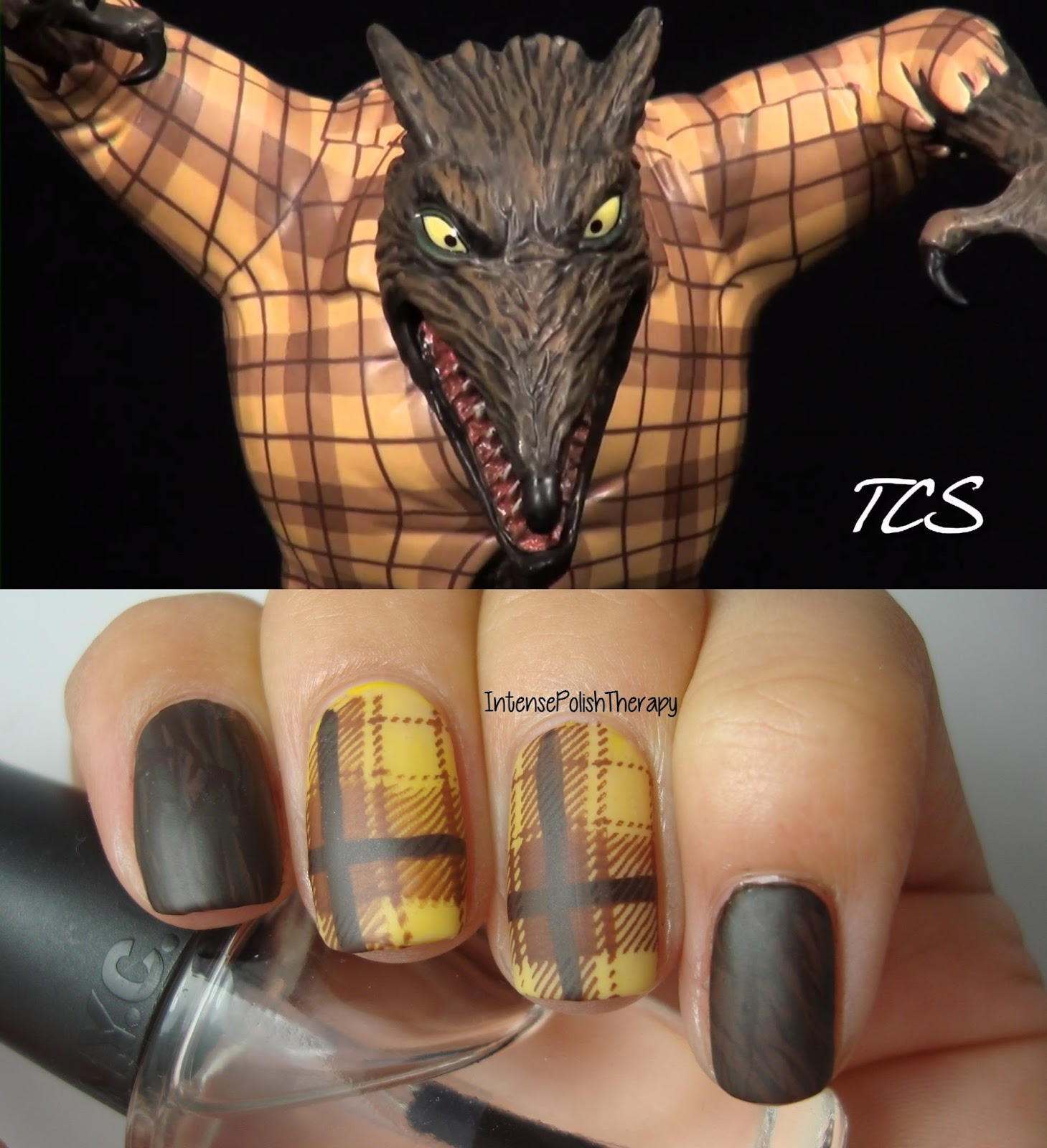 Intense Polish Therapy: Wolfman manicure inspired by The Nightmare ...