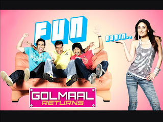 Golmaal Returns - the extra suspicious wife and a murder (released in 2008)