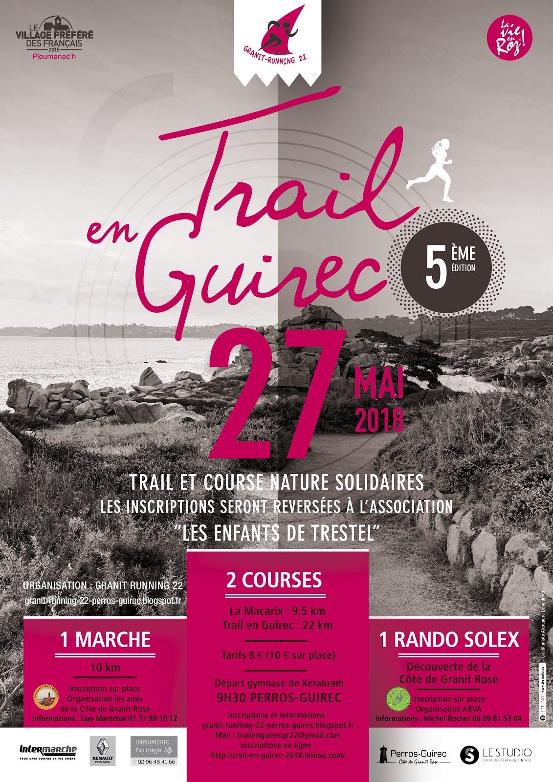 Trail en Guirec 2018
