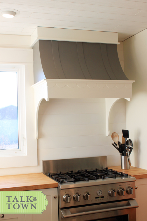 Talk Of The Town How To Build A Range Hood Instructions