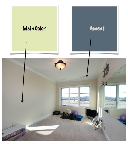What color should i paint my exercise room a color for Workout room colors