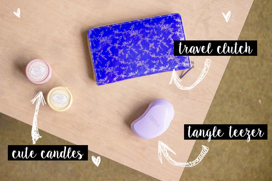 June Favourites - Tangle Teezer, Candles, Travel Clutch