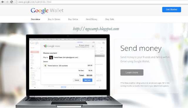 send money via gmail