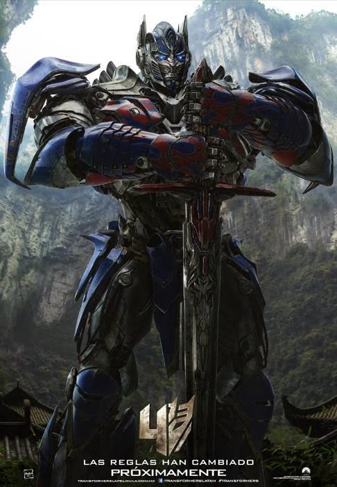 Póster Transformers: La era de la Extinción