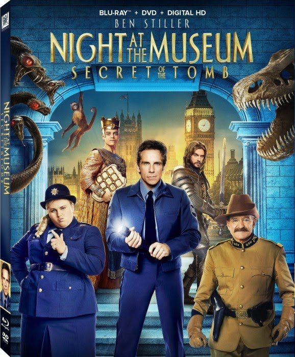 Đêm Ở Viện Bảo Tàng : Bí mật lăng mộ - Night at the Museum: Secret of the Tomb