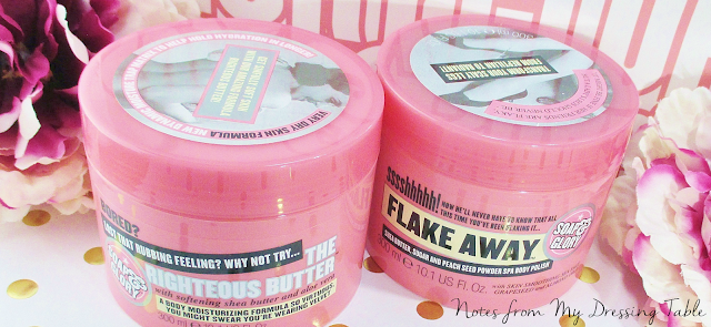 seriously soft skin with soap & Glory notesfrommydressingtable.com