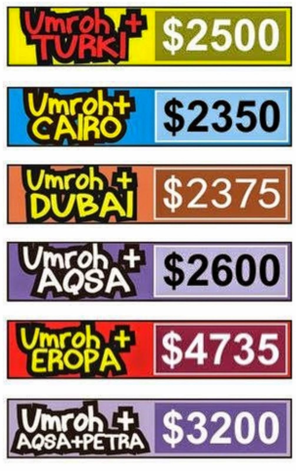 Paket Umrah