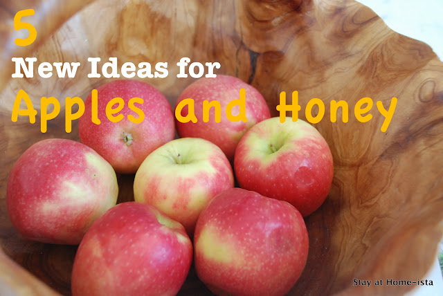 Rosh Hashanah menu ideas with apples and honey