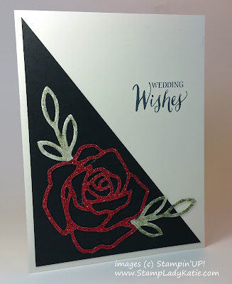 card made with Stampin'UP!'s Rose Wonder Stamps and Rose Garden Die